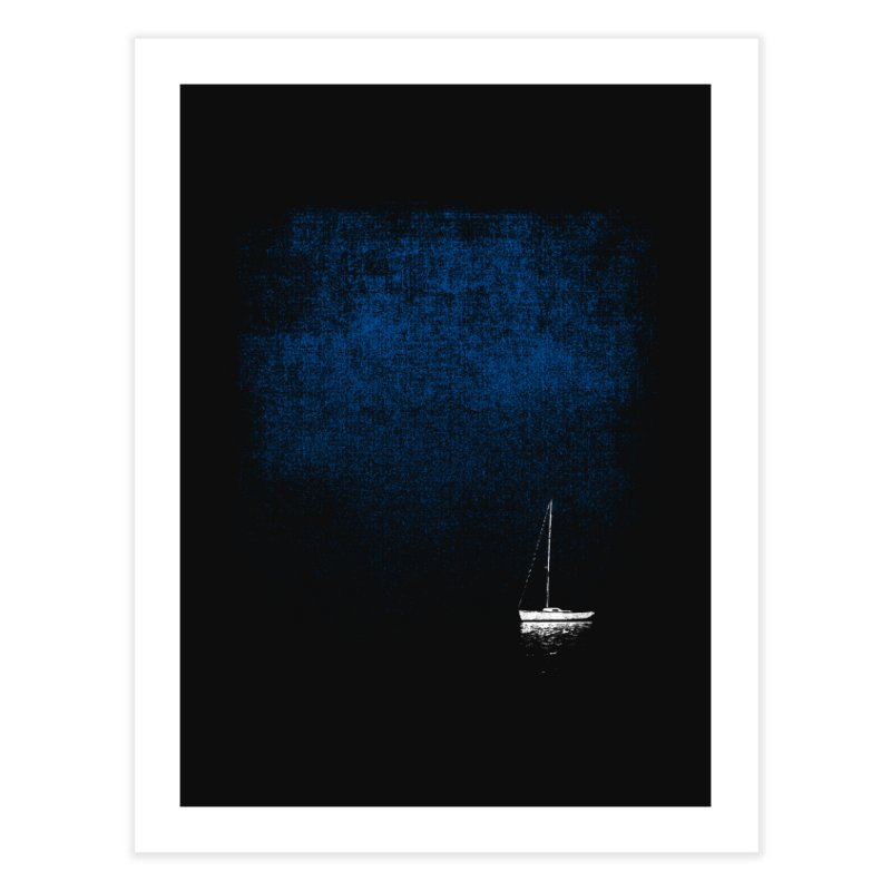 Dream Blue Home Fine Art Print by bulo
