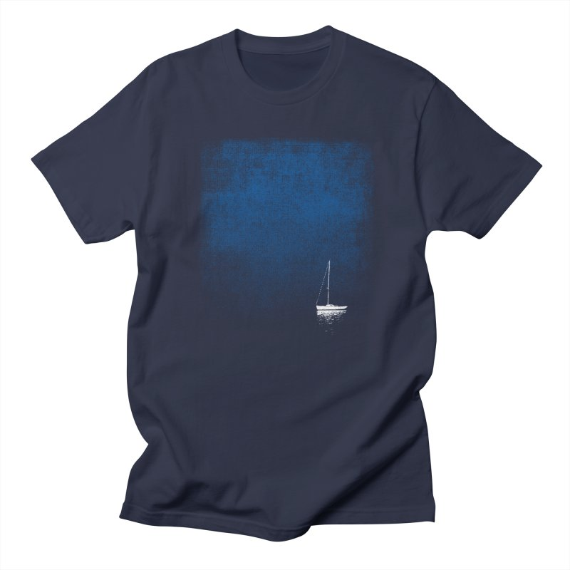 Dream Blue in Men's Regular T-Shirt Navy by bulo