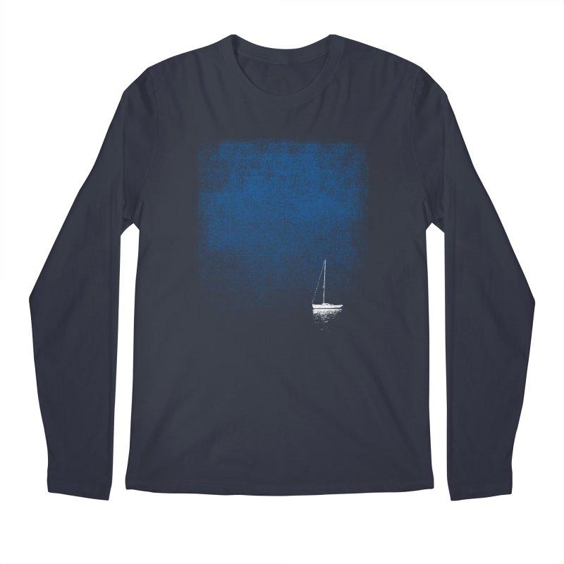 Dream Blue Men's Longsleeve T-Shirt by bulo
