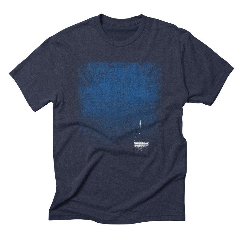 DreamBlue in Men's Triblend T-shirt Navy by bulo