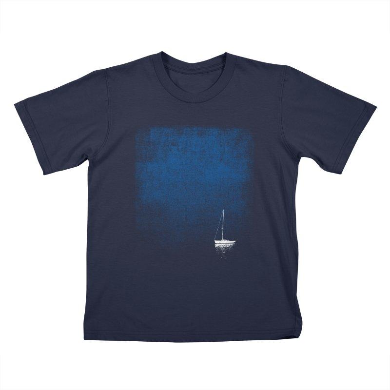 Dream Blue Kids T-Shirt by bulo