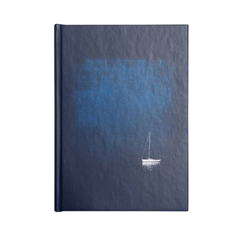 Dream Blue Accessories Notebook by bulo