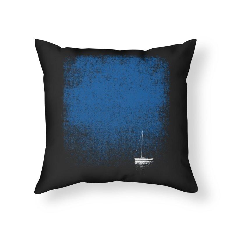 Dream Blue Home Throw Pillow by bulo