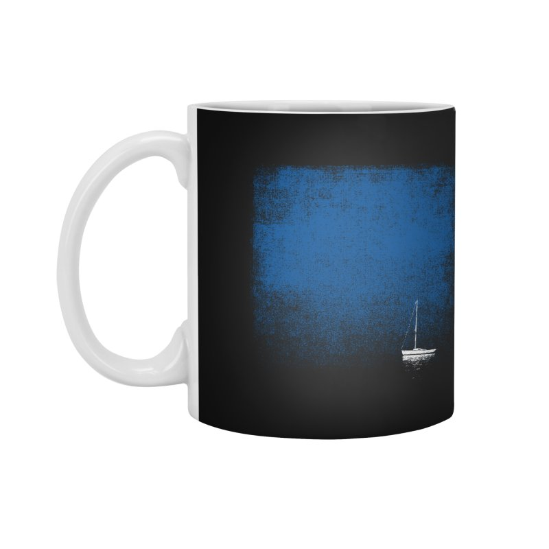 Dream Blue Accessories Mug by bulo