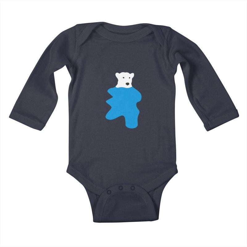 On The Water Kids Baby Longsleeve Bodysuit by bulo