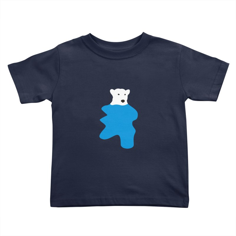 On The Water Kids Toddler T-Shirt by bulo