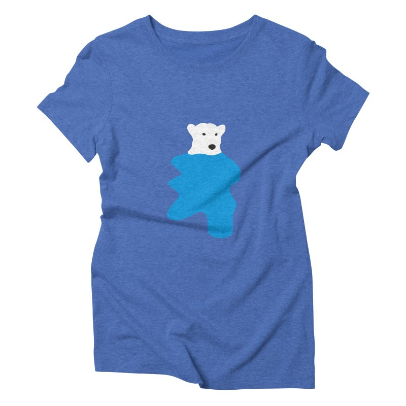 On The Water Women's Triblend T-shirt by bulo