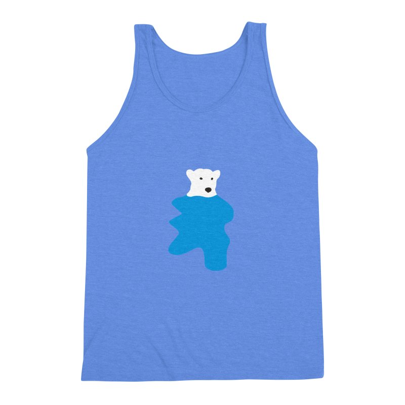 On The Water Men's Triblend Tank by bulo