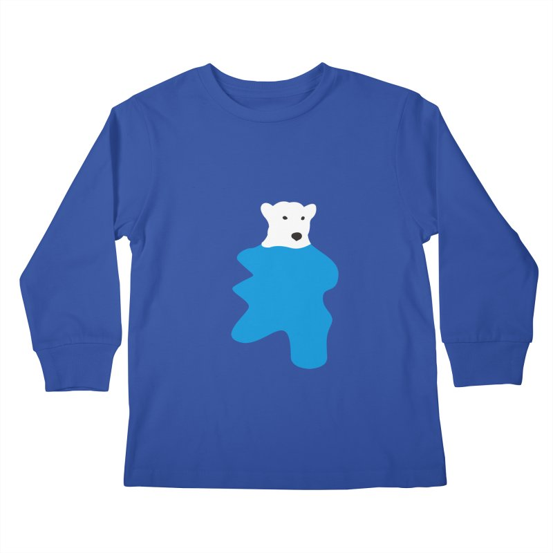 On The Water Kids Longsleeve T-Shirt by bulo