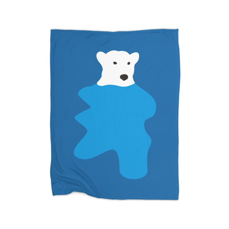 On The Water Home Fleece Blanket by bulo