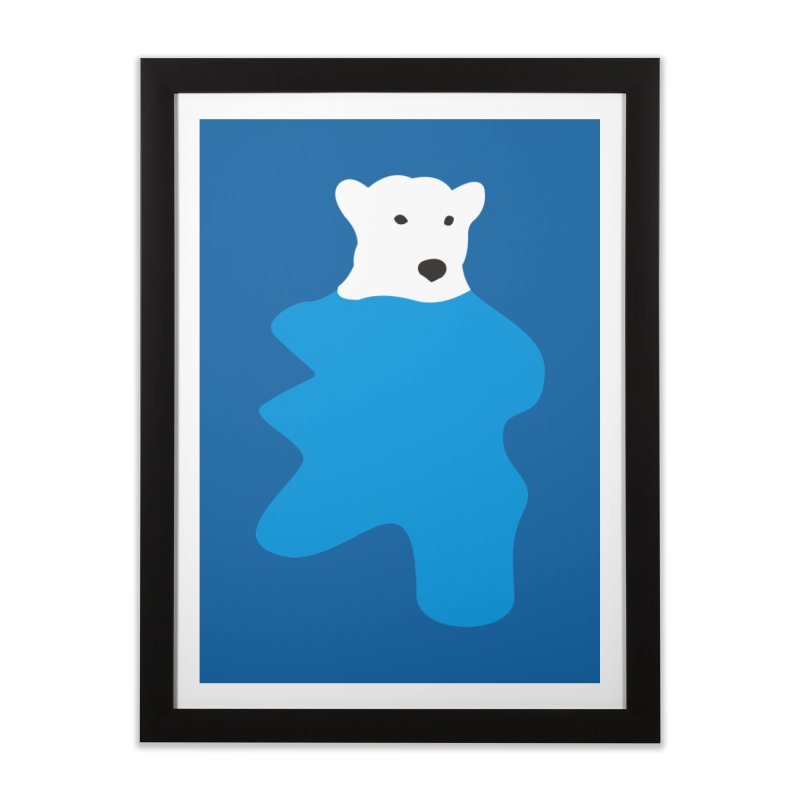 On The Water Home Framed Fine Art Print by bulo