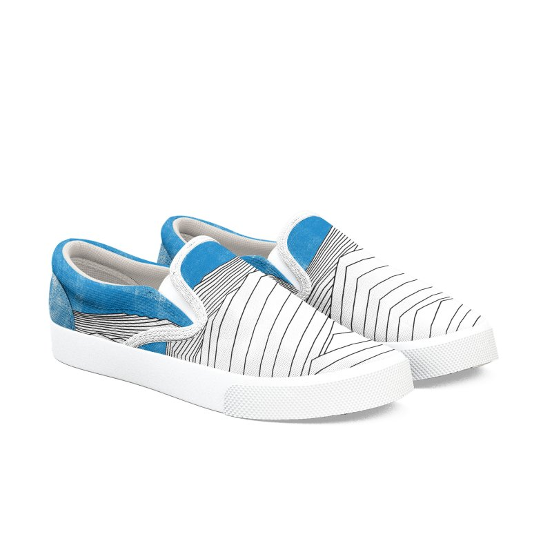 Ocean Smell (heart form version) in Men's Slip-On Shoes by bulo