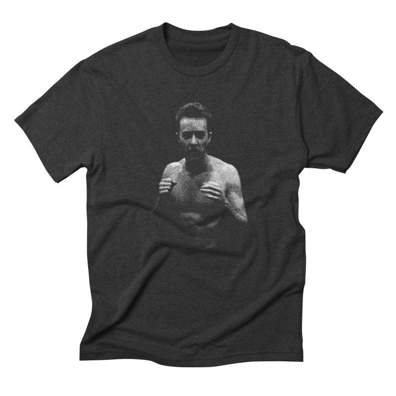 Schizophrenia in Men's Triblend T-shirt Heather Onyx by bulo