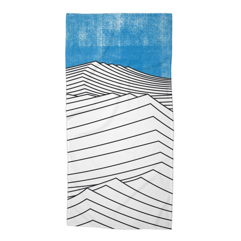 Ocean Smell Accessories Beach Towel by bulo