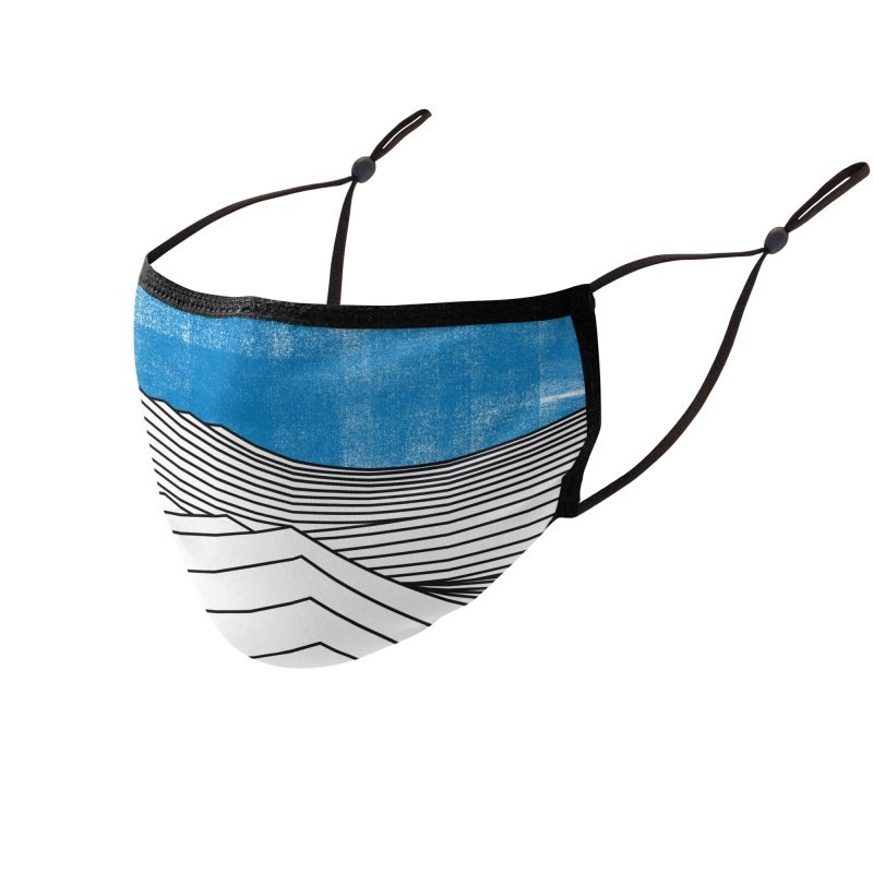 Ocean Smell Accessories Face Mask by bulo