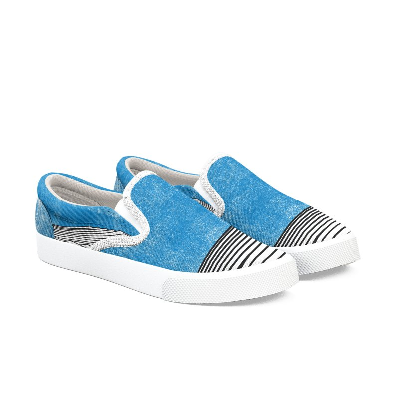 Ocean Smell in Men's Slip-On Shoes by bulo