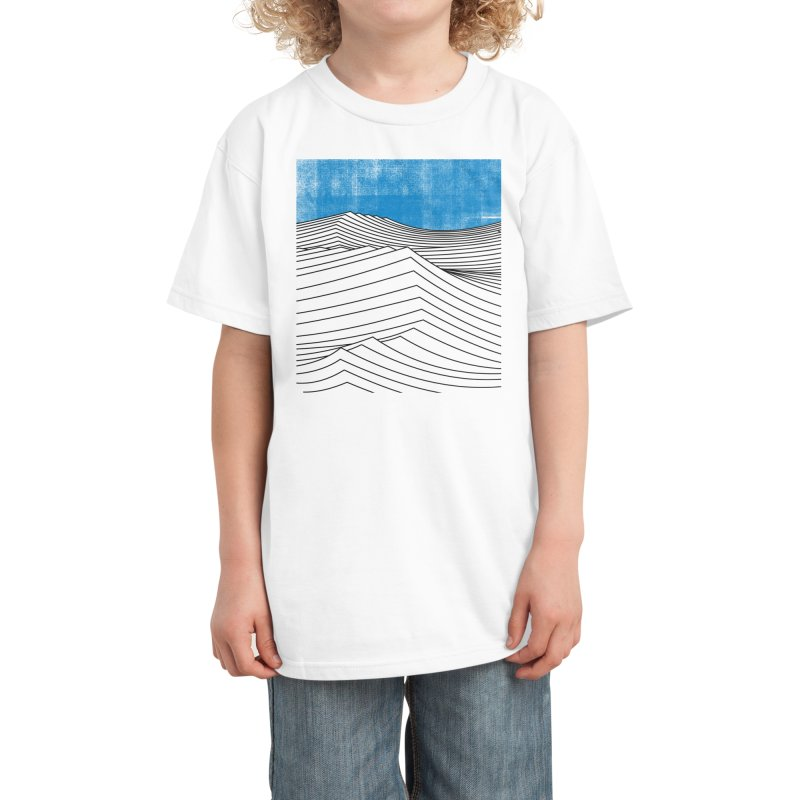 Ocean Smell Kids T-Shirt by bulo