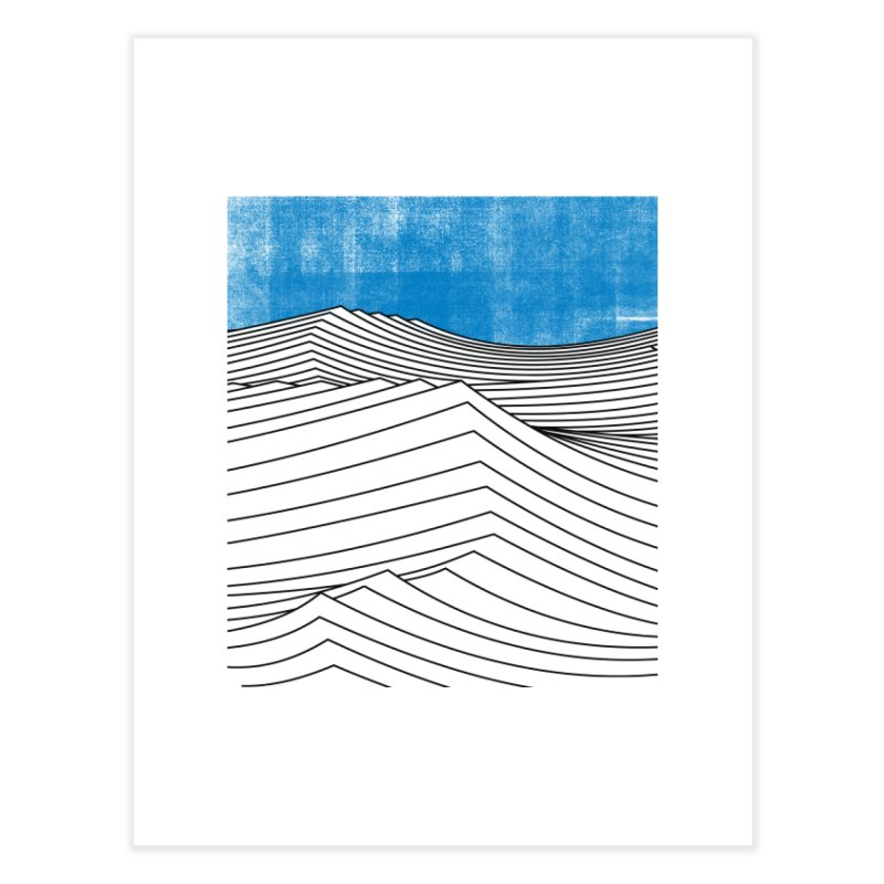 Ocean Smell Home Fine Art Print by bulo