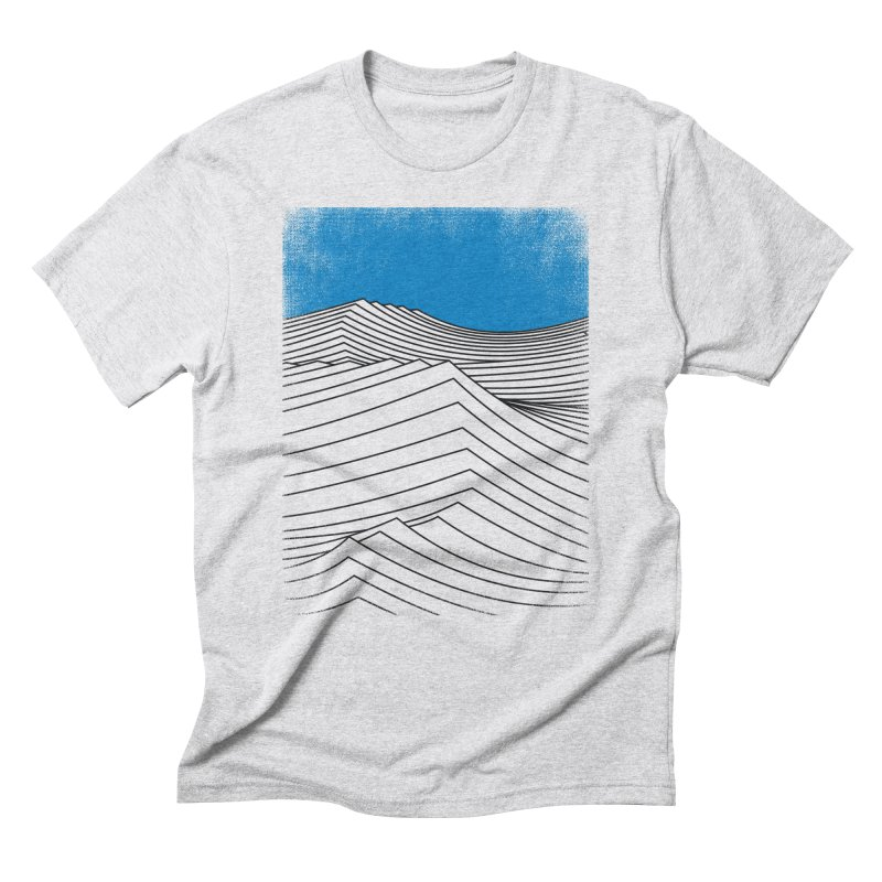Waves Men's Triblend T-Shirt by bulo