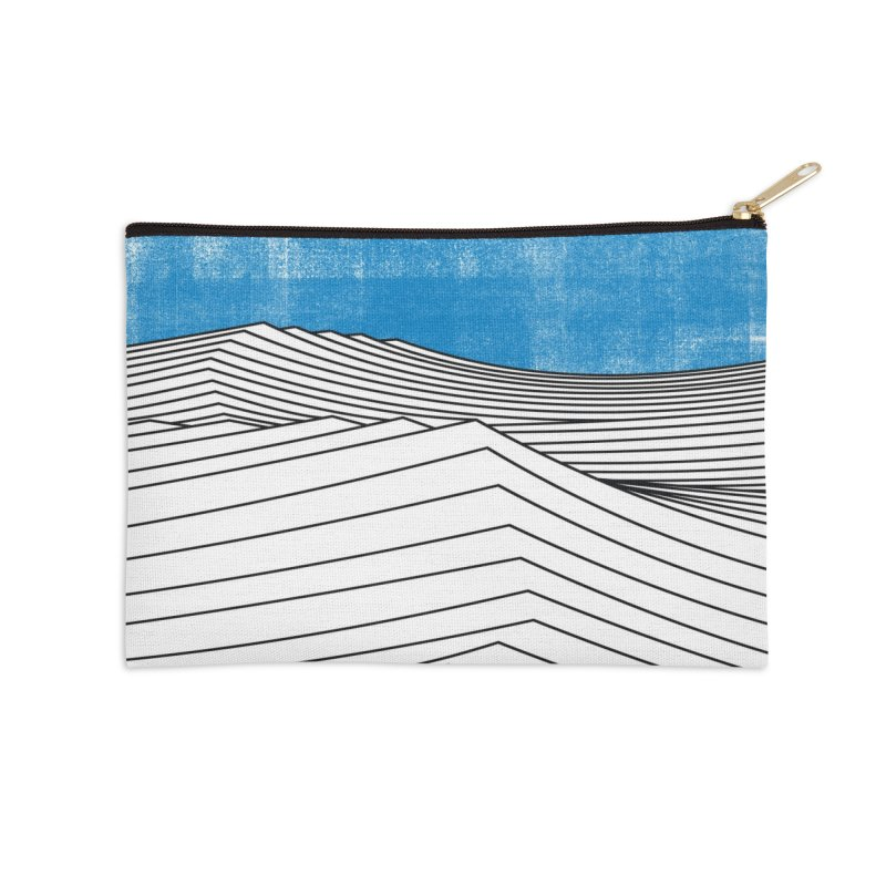 Ocean Smell Accessories Zip Pouch by bulo