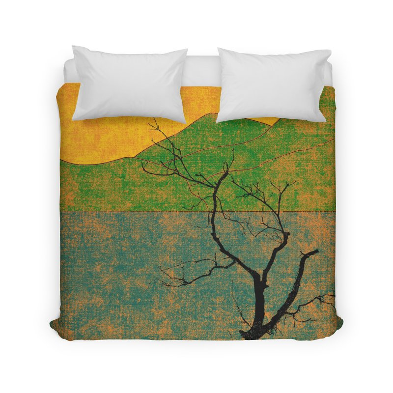 Lone Tree Home Duvet by bulo