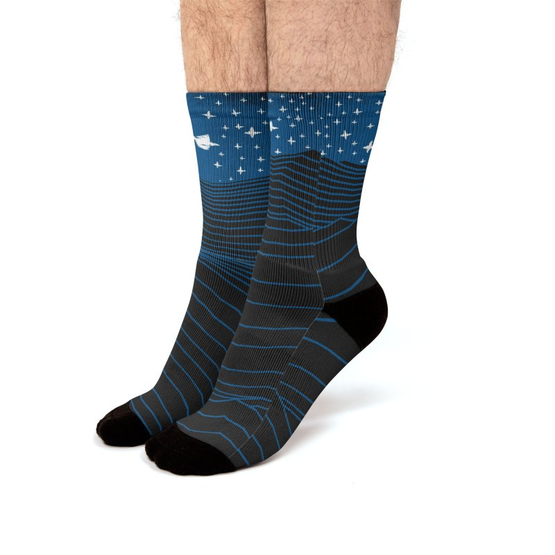 Waves Men's Socks by bulo