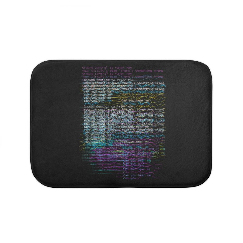 Lost Signal Home Bath Mat by bulo