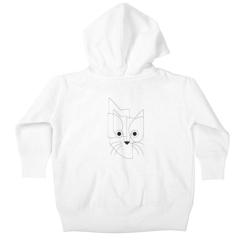 Curious Cat Kids Baby Zip-Up Hoody by bulo