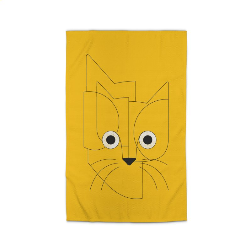 Curious Cat Home Rug by bulo