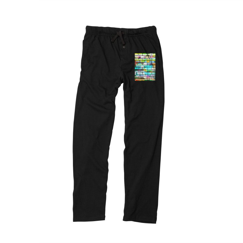Glitchy Wall Women's Lounge Pants by bulo