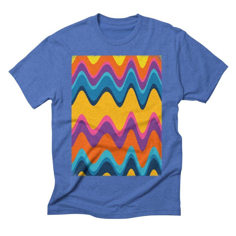 sweet dreams in Men's Triblend T-shirt Blue Triblend by bulo