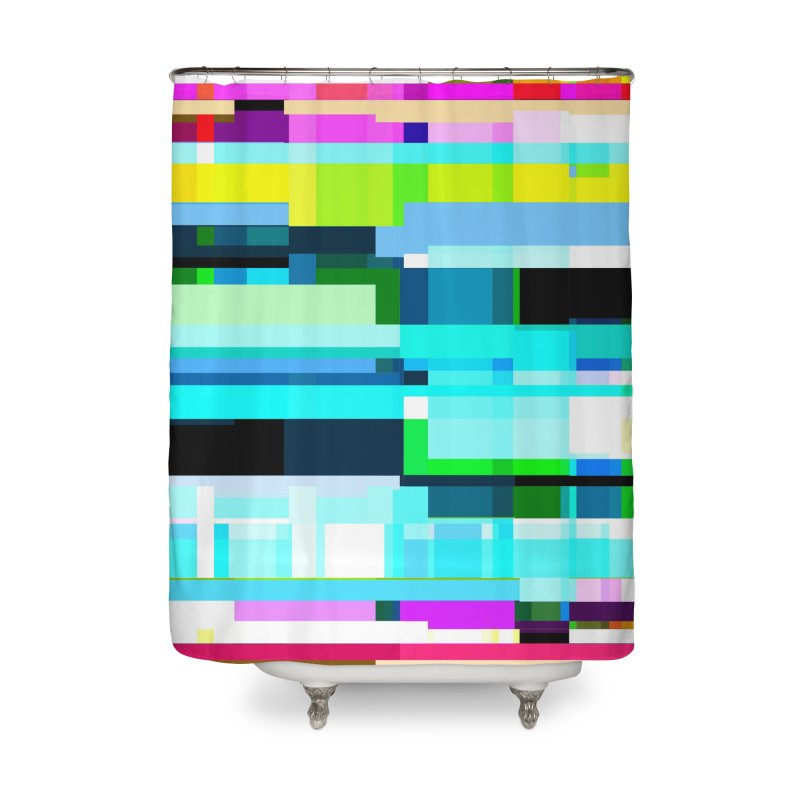 Linking Home Shower Curtain by bulo
