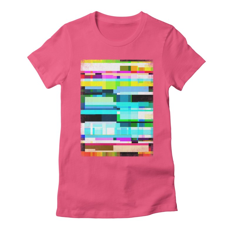 Linking Women's Fitted T-Shirt by bulo