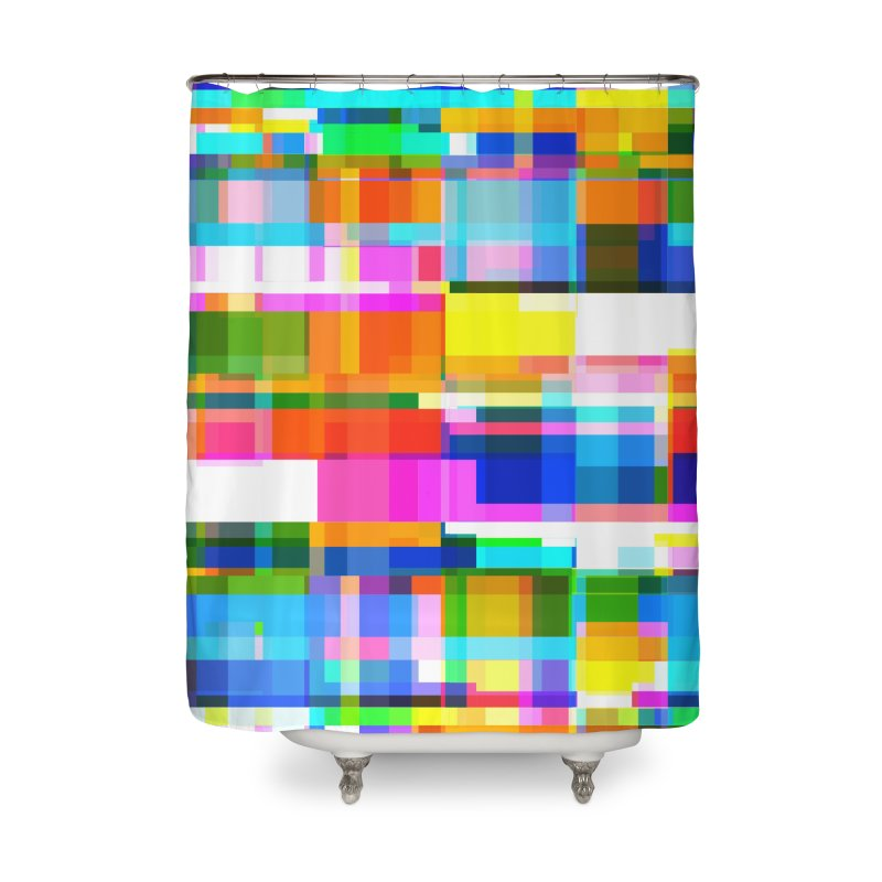 Colorful Dreams Home Shower Curtain by bulo