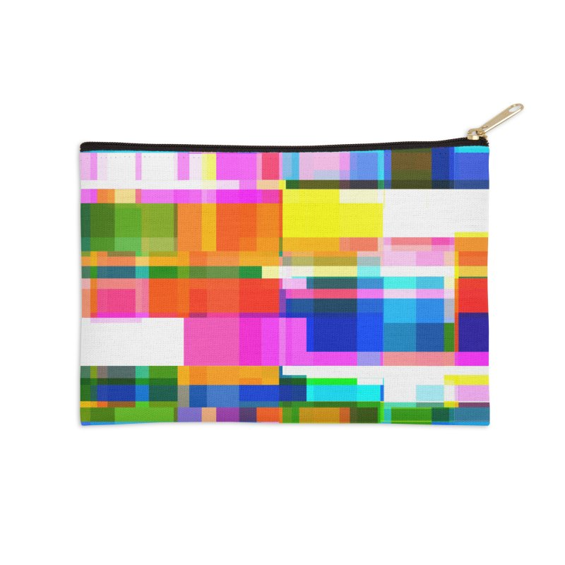 Colorful Dreams Accessories Zip Pouch by bulo