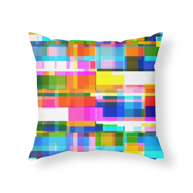 Colorful Dreams Home Throw Pillow by bulo