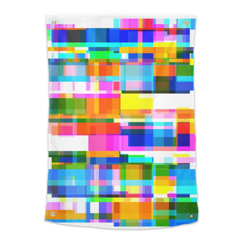 Colorful Dreams Home Tapestry by bulo