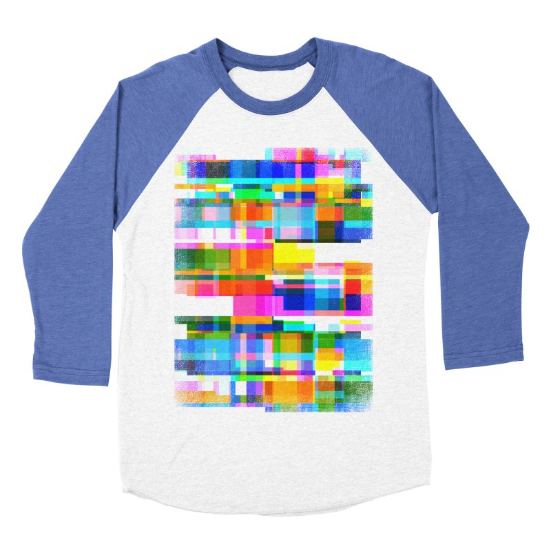 Colorful Dreams Women's Baseball Triblend T-Shirt by bulo