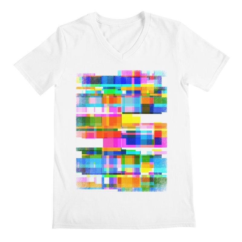 Colorful Dreams Men's V-Neck by bulo