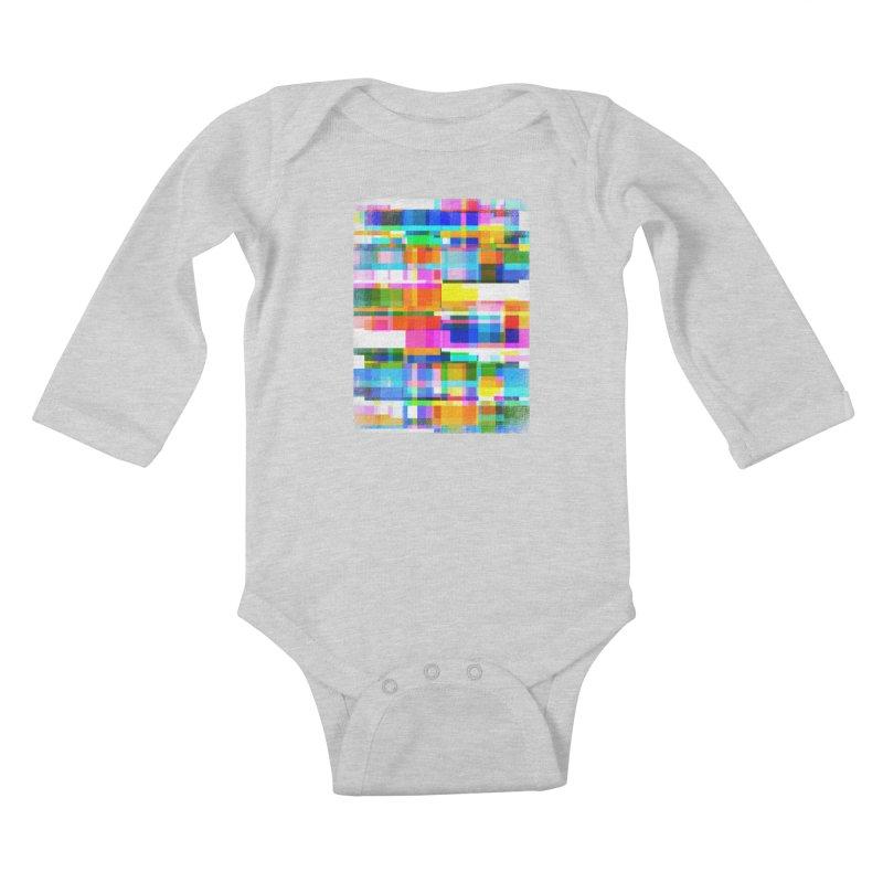 Colorful Dreams Kids Baby Longsleeve Bodysuit by bulo