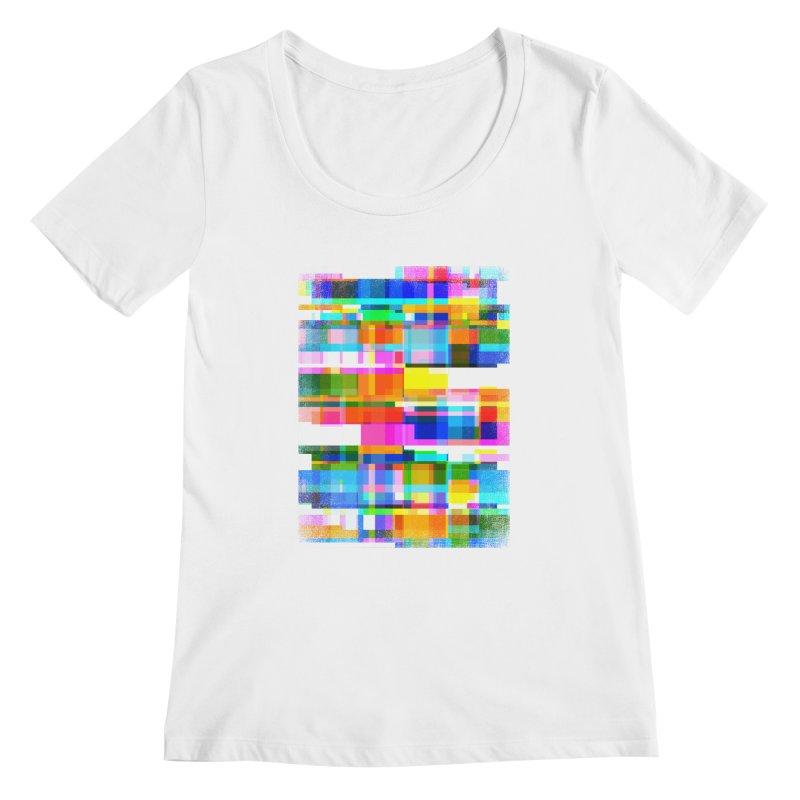 Colorful Dreams Women's Scoopneck by bulo