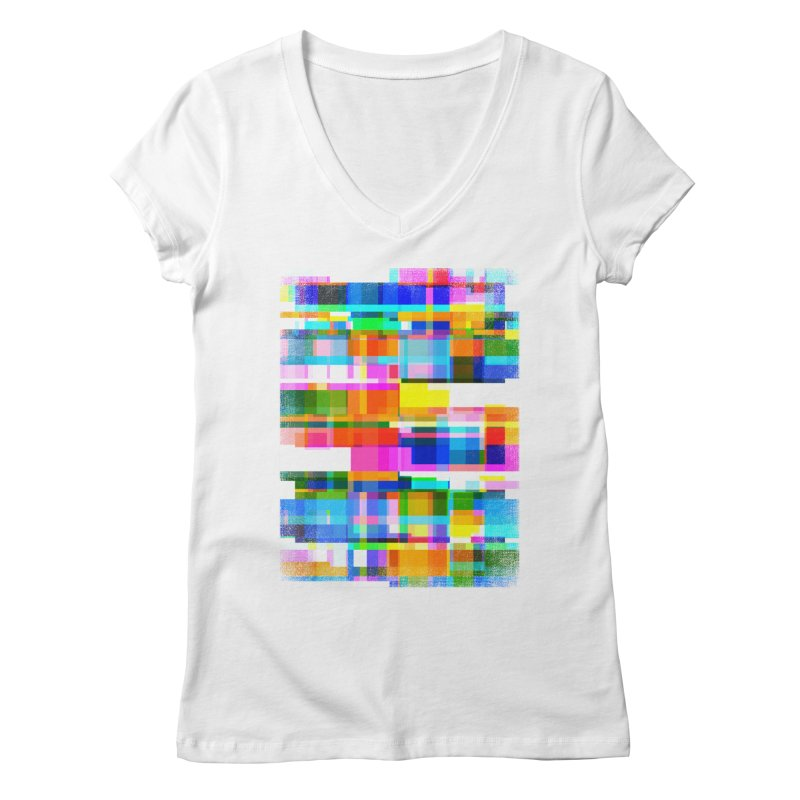 Colorful Dreams Women's V-Neck by bulo