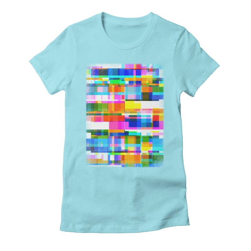 Colorful Dreams Women's Fitted T-Shirt by bulo