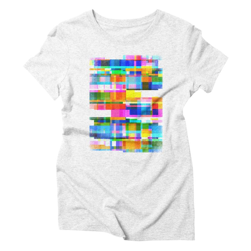 Colorful Dreams Women's Triblend T-shirt by bulo