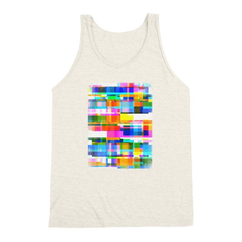 Colorful Dreams Men's Triblend Tank by bulo