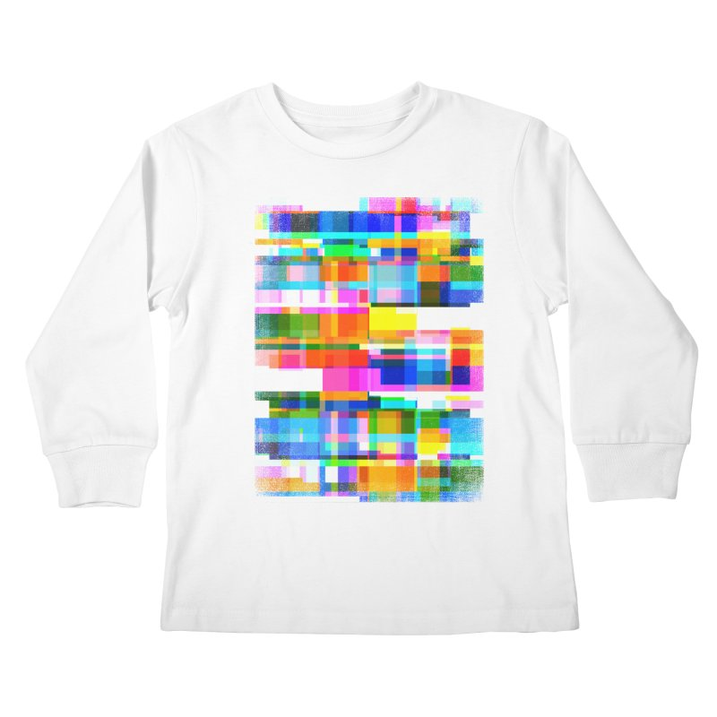 Colorful Dreams Kids Longsleeve T-Shirt by bulo