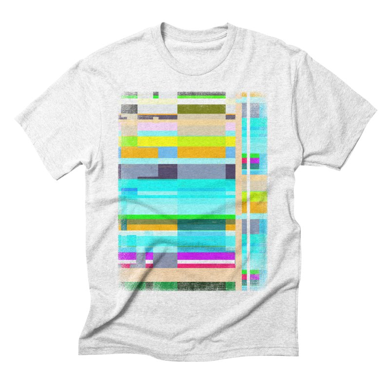 Wayout in Men's Triblend T-shirt Heather White by bulo
