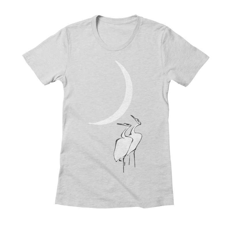Romance (minimal version) Women's Fitted T-Shirt by bulo