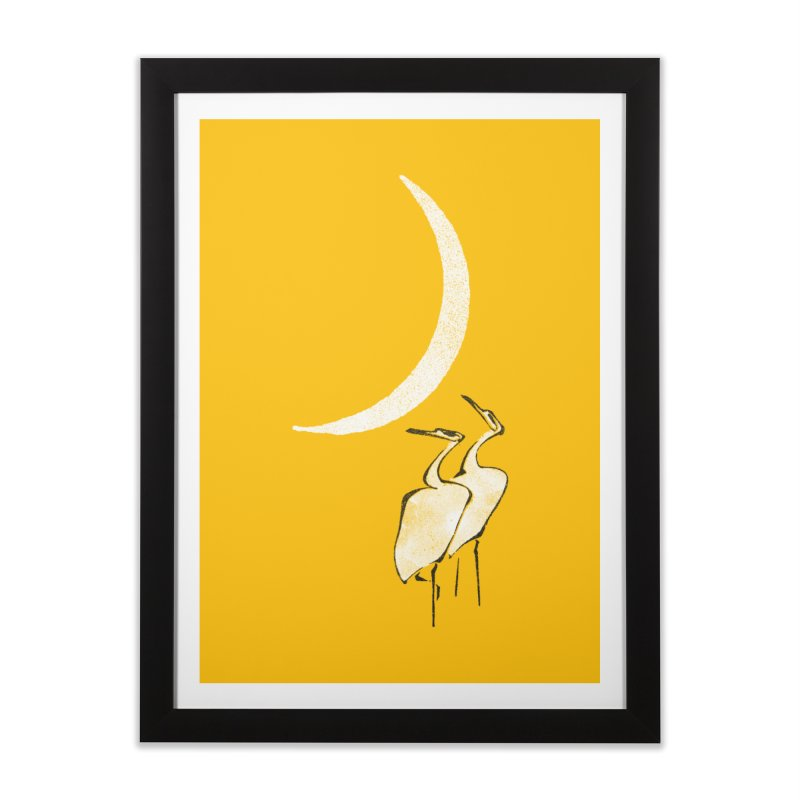 Romance (minimal version) Home Framed Fine Art Print by bulo