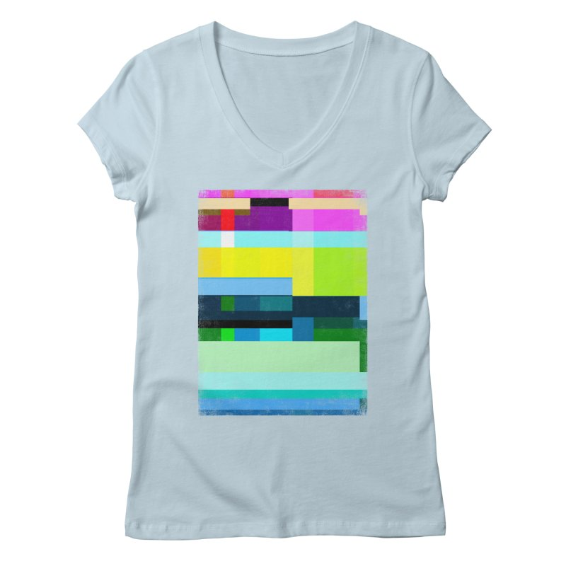 Discharge Women's V-Neck by bulo